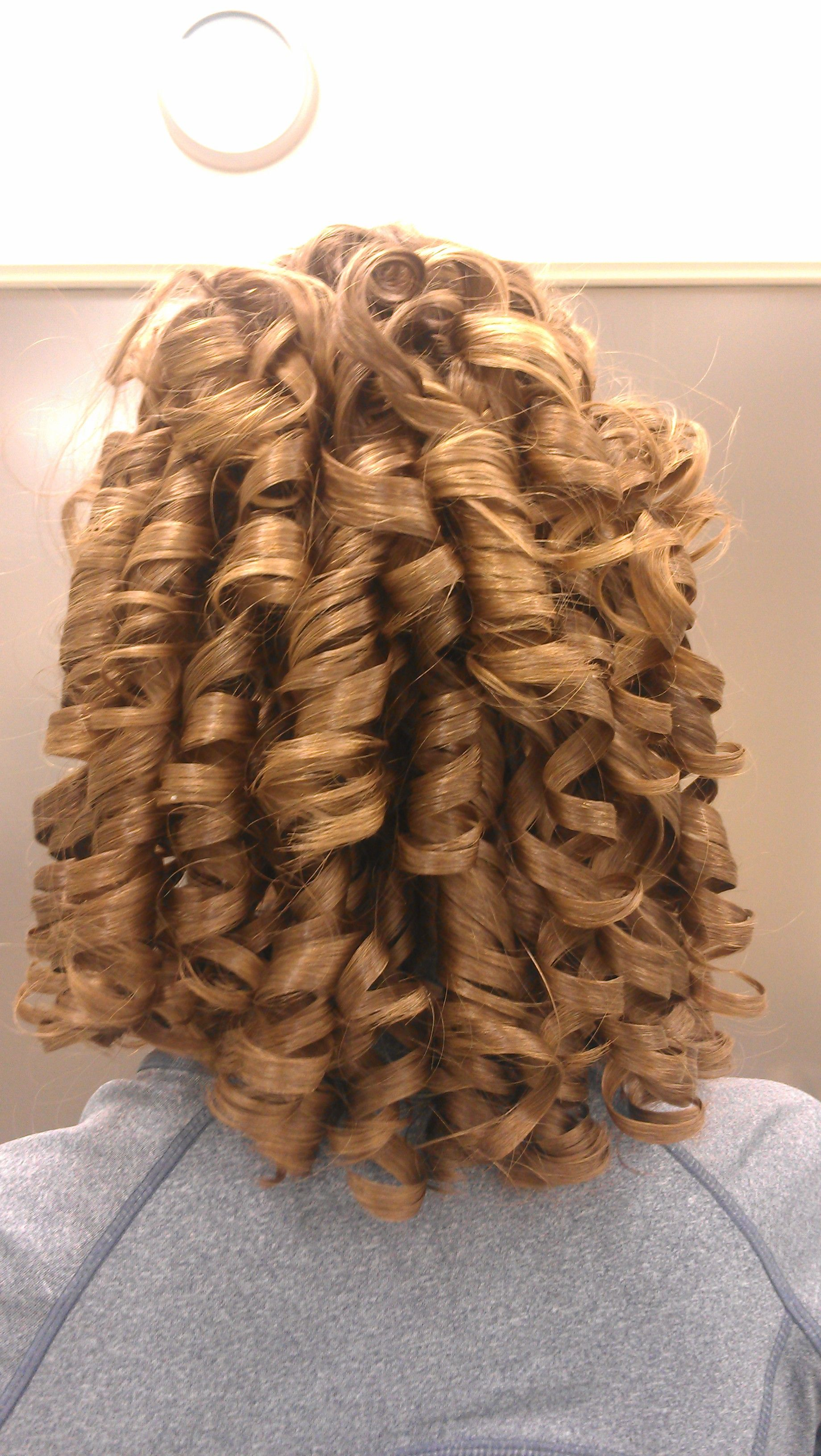 Nutcracker Party Girl Curls my mom did that
