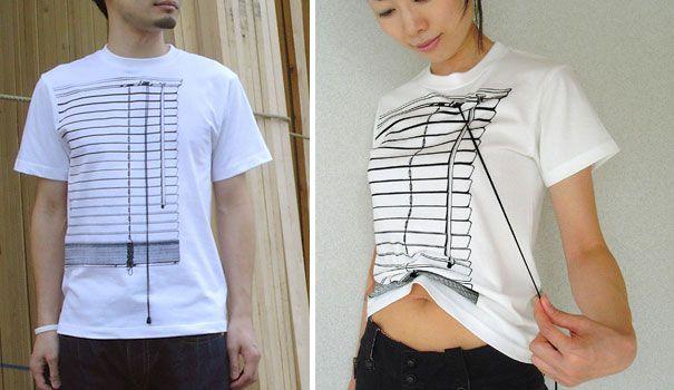 Los 30 diseños más creativos de camisetas  6330bb6064542