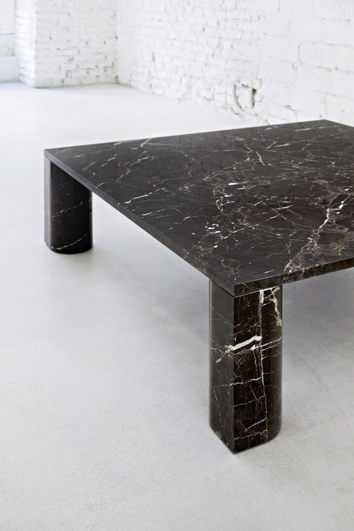 Michael Anastassiades For Salvatori Coffee Table Square Marble Coffee Table Square Marble Coffee Table