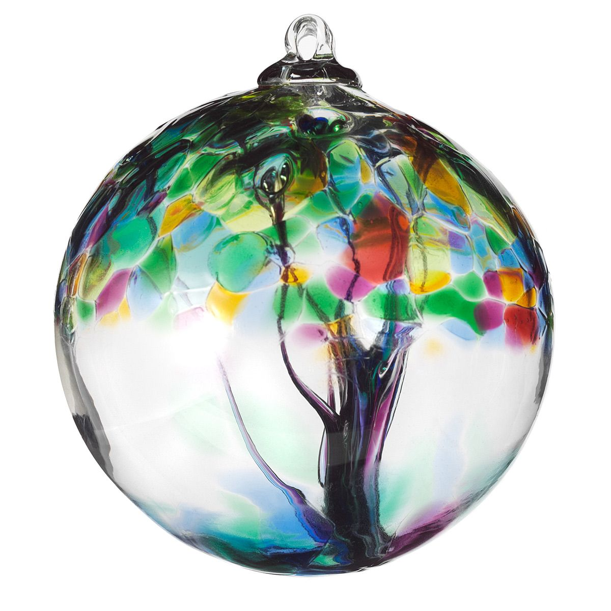 Glass globe ornaments - Recycled Glass Tree Globes Relationships