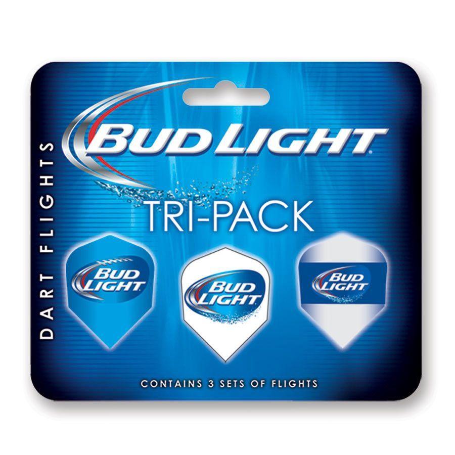 Bud Light Tri-pack Standard Flights (Set of 2)