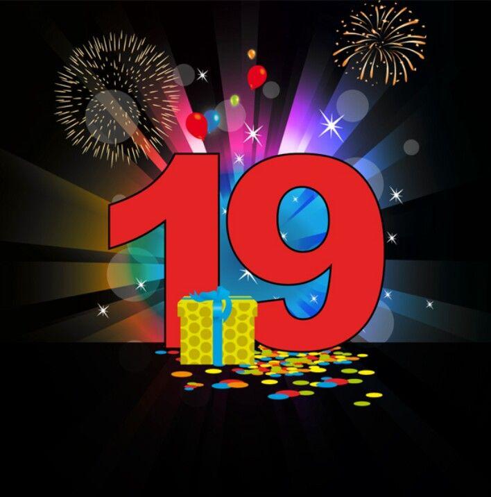 19 Jaar Jarig Pinterest
