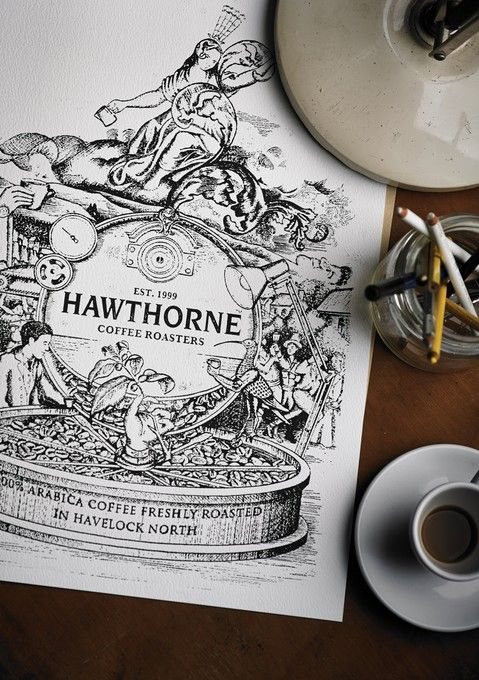 Hawthorne Coffee Roasters.