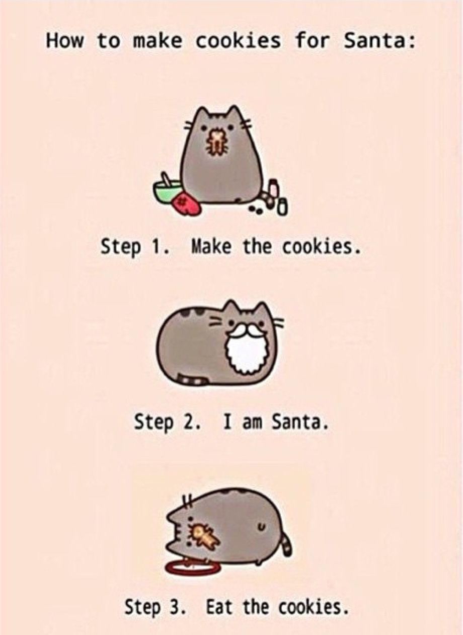 Pusheen Christmas Pusheen Cat Pusheen Funny
