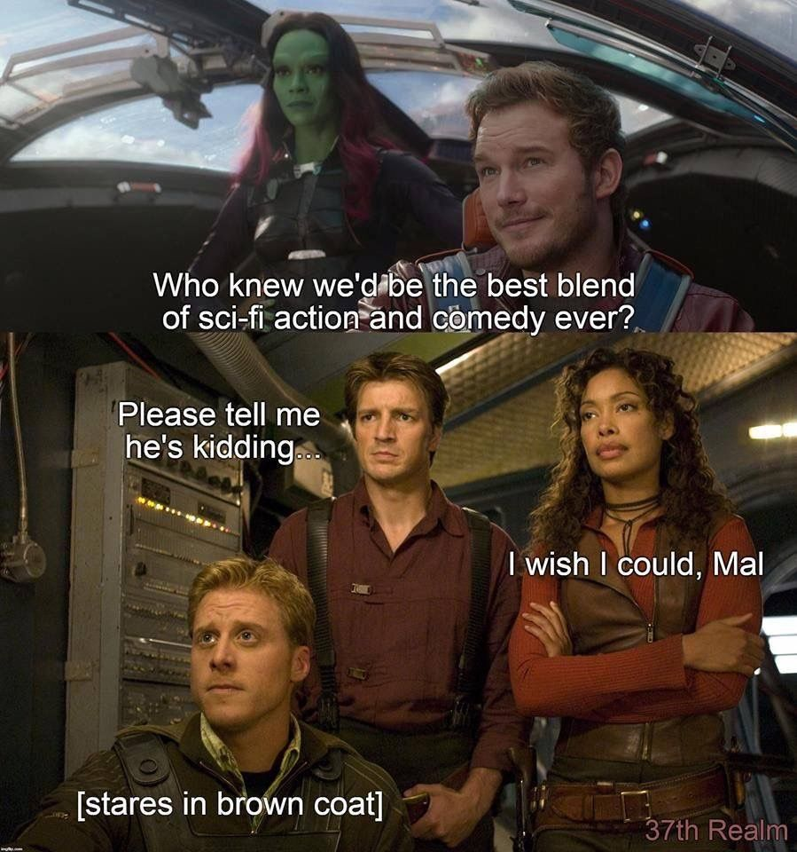 I mean, they're pretty close. Firefly serenity quotes