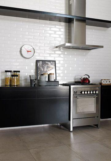 Detalhe de piso como op o para cozinha integrar na sala for Piso 0 salas de estudo e atl