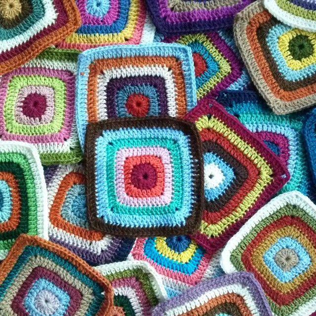 Meet Crochet Lover Marta of MrsDaftSpaniel   Grannys patterns ...