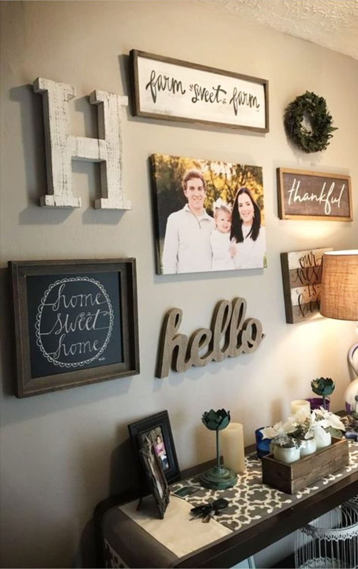 DIY Gallery Wall Ideas Accent Wall