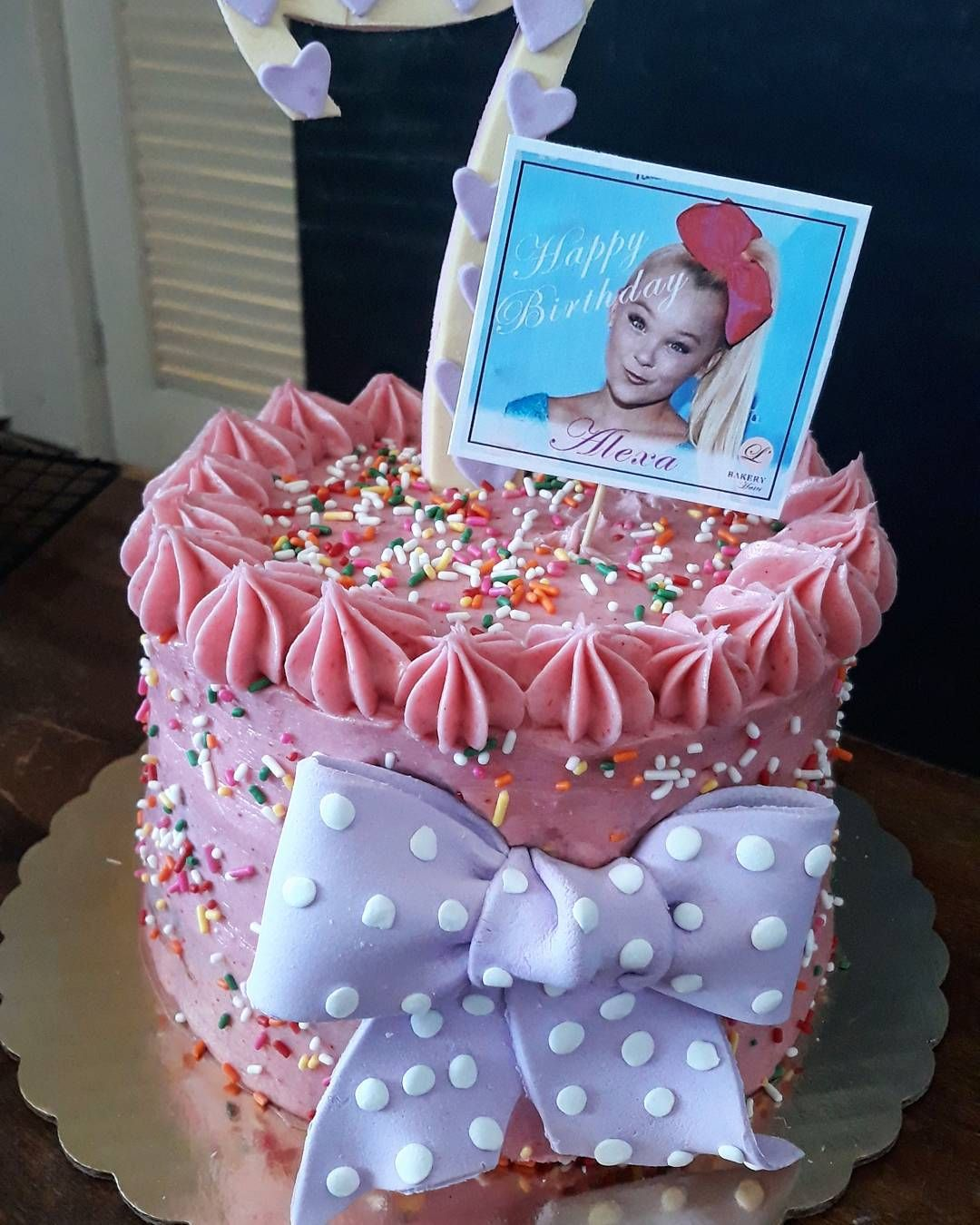 Jojo Siwa Birthday Party Ideas Jojo Siwa Cake With Images