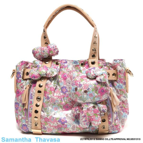 ff592ecee New Hello Kitty Liberty Print Samantha Thavasa Collaboration Aimi ...