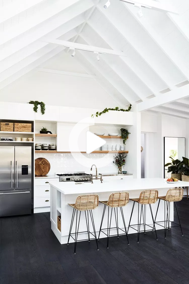 Transformation D Une Ferme En Maison D Hote In 2020 Modern Farmhouse Kitchens Kitchen Style Interior Design Kitchen
