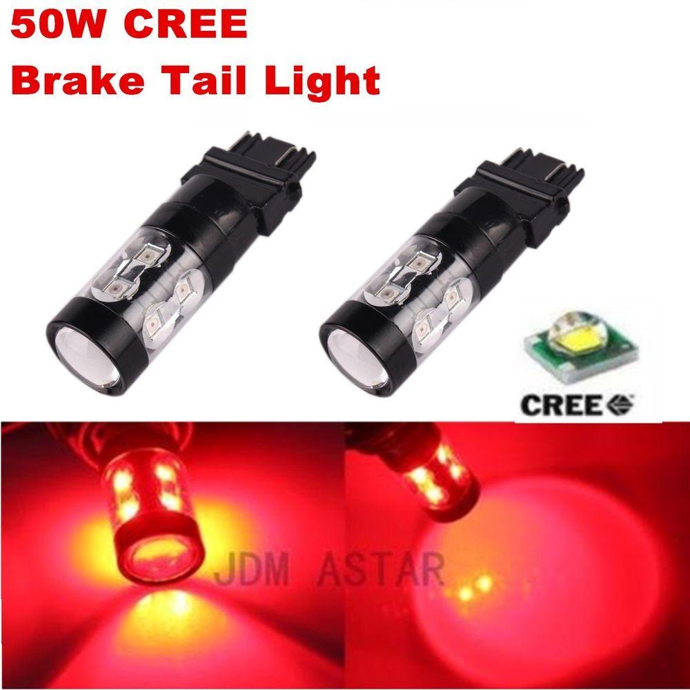7443 7440 Turn Signal Blinker Corner Brake Lights Bulbs LED Light Bulb