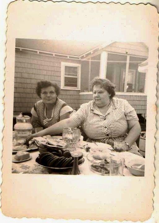 women Vintage fat