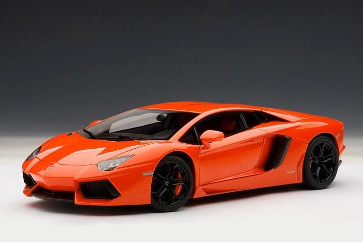 autoart lamborghini aventador lp700 4 arancio argos metallic orange 74665