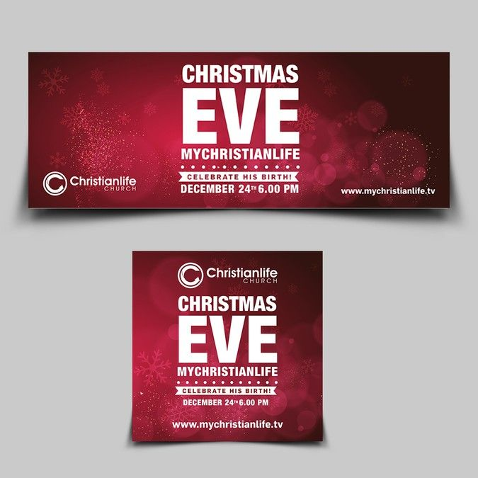 Create a CHRISTMAS EVE design the WOWS! by Create4Design
