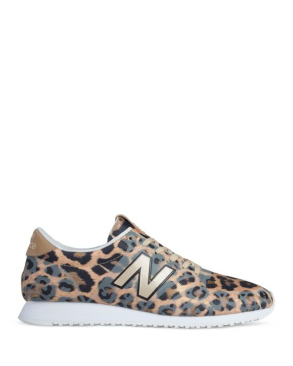 basket new balance leopard