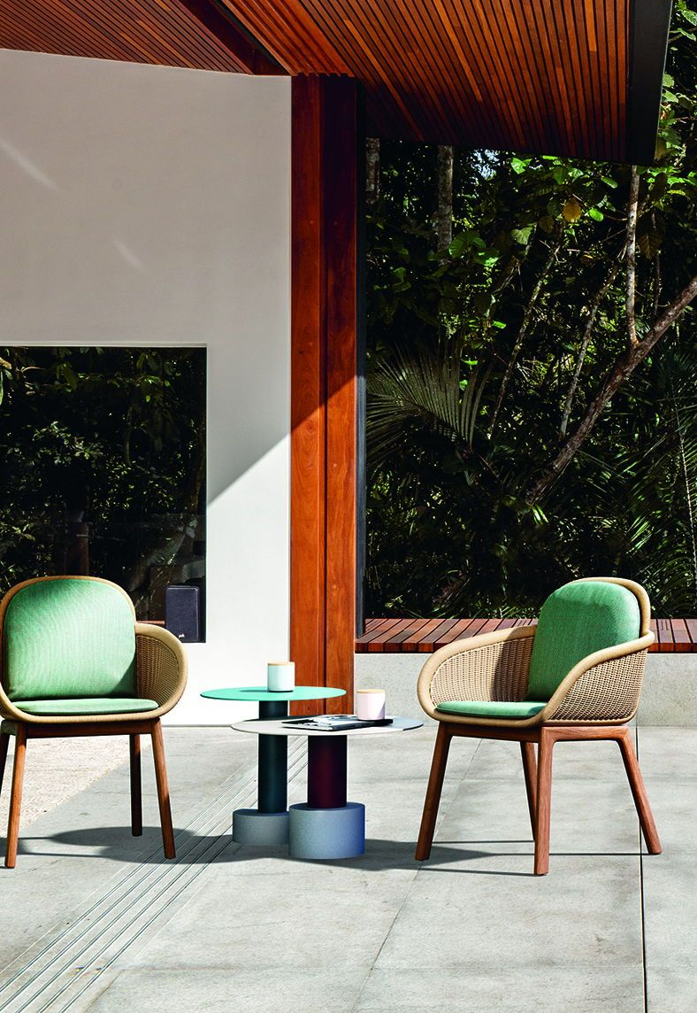 Elegant Patricia Urquiola Designs Basket Chair For Kettal