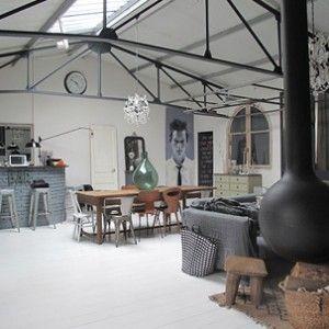 Loft bohème en région parisienne | Le magazine Ateliers Lofts ...