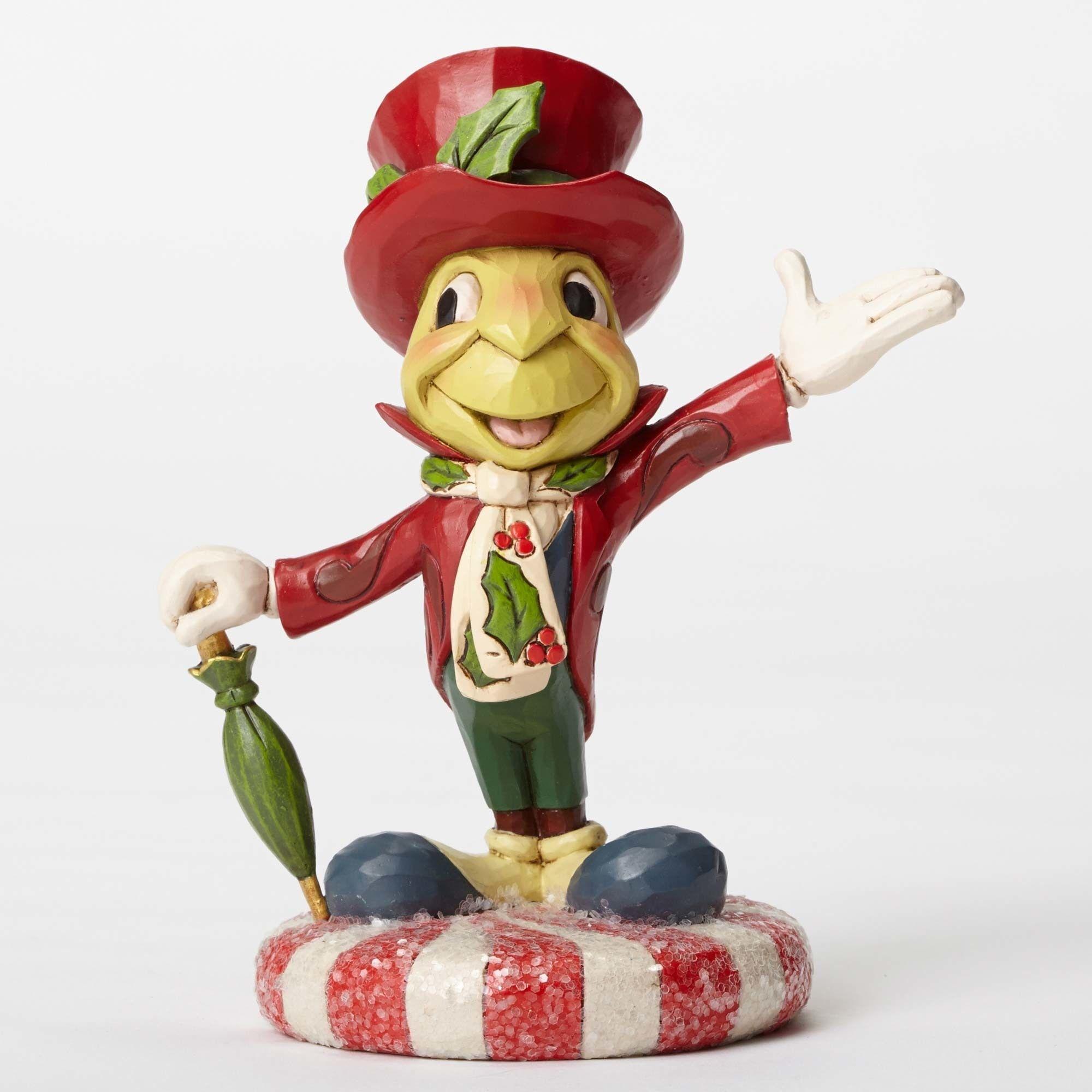 Jolly Jiminy Jiminy Cricket Sugar Coat Figurine Disney Traditions With Images Disney Traditions Jiminy Cricket Disney Collectables