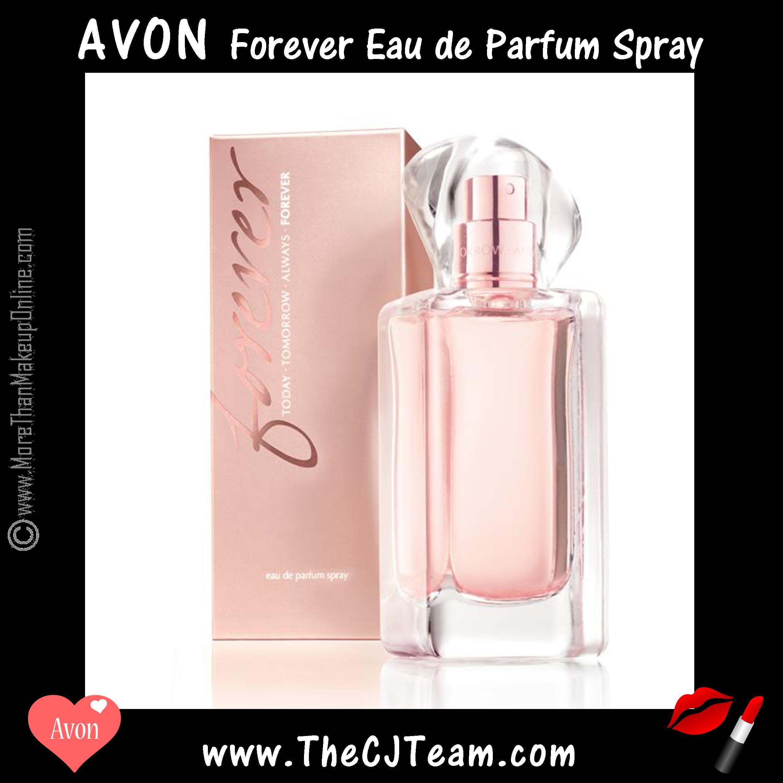 Forever Eau De Parfum Spray Avon Love Is An Endless Adventure A