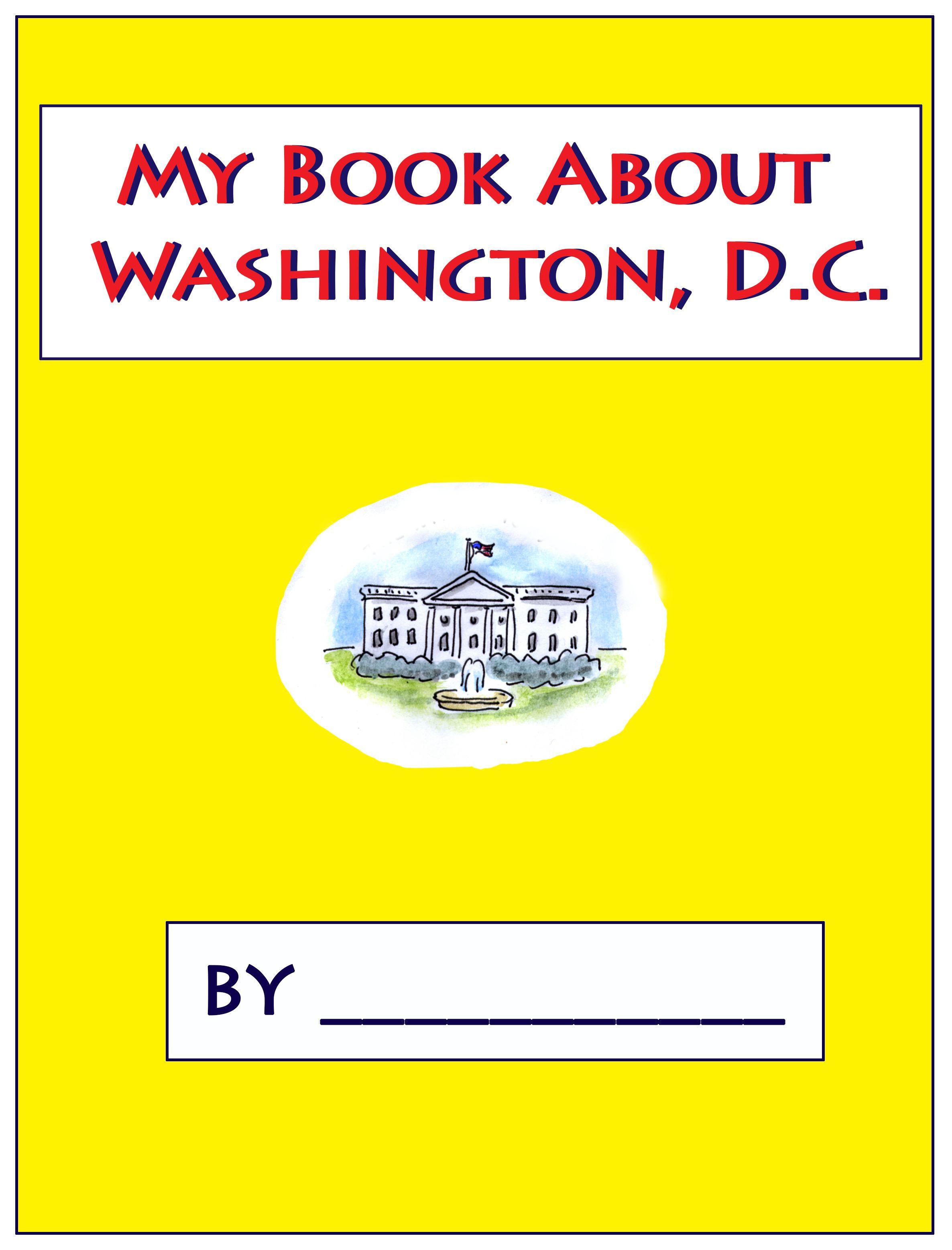My Book About Washington D C