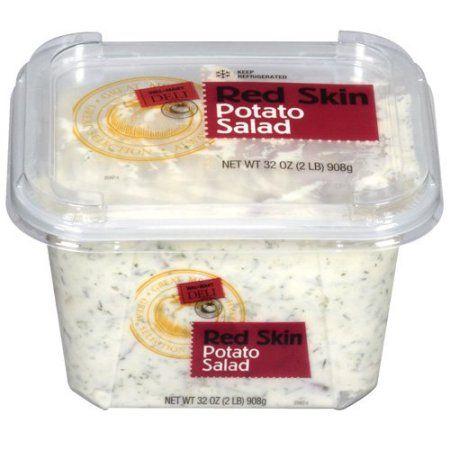 ac0dbd9abba Walmart Deli Red Skin Potato Salad