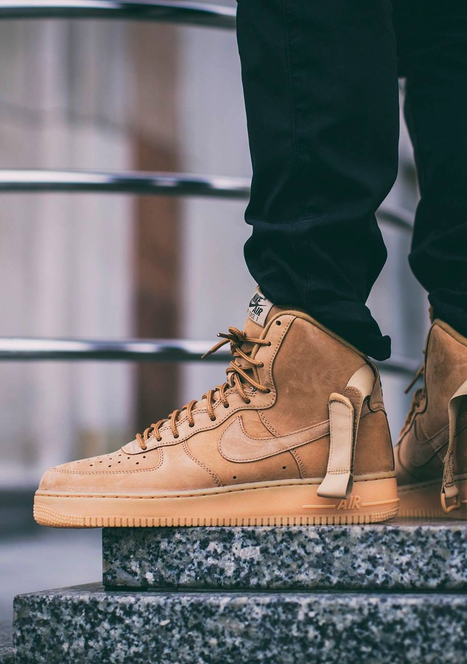 nike air force 1 07 wheat