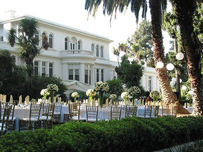 Fenyes Estate Garden At Pasadena Museum Of History California Wedding Venues 7