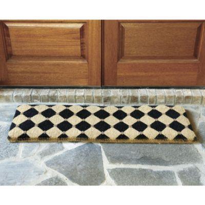 Ballard designs harlequin front door mat