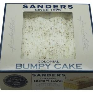 Sander's Bumpy Cake  Coconut