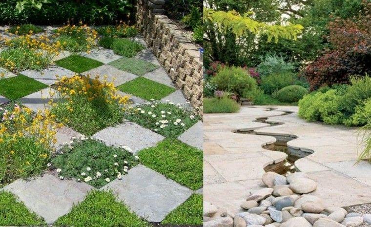 Jardin moderne avec galets ou comment concevoir une déco extérieure ...