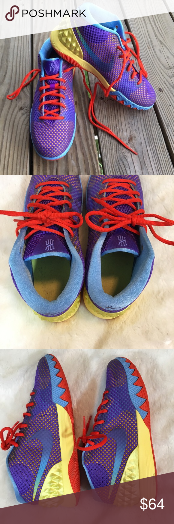 c50ba784ff78 🆕Nike Kyrie 1 Saturdays Basketball Sneakers Nike Kyrie 1 Saturdays  Basketball Sneakers. Kyrie Irving