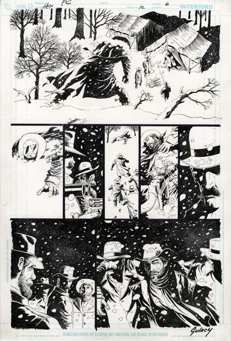 Jonah Hex #12 (page 6) by Paul Gulacy