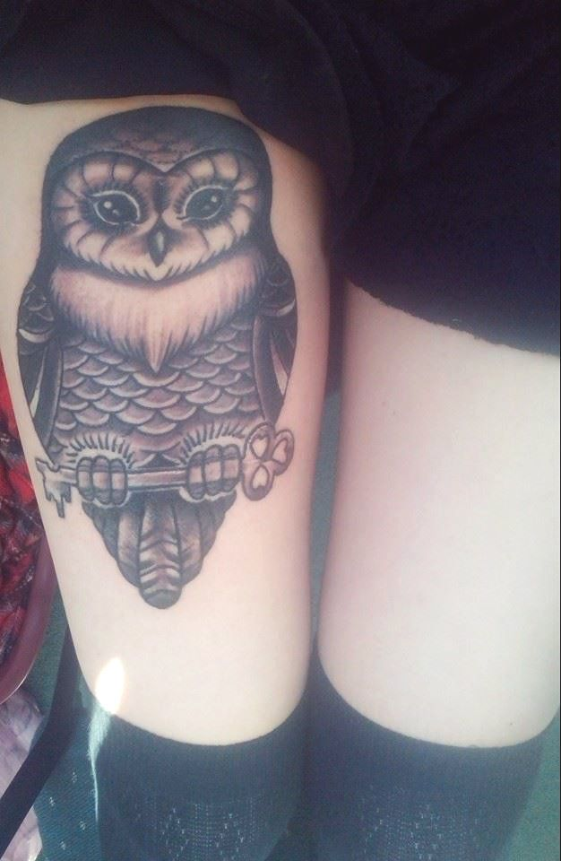 Baby Owl Tattoo Png & Free Baby Owl Tattoo.png Transparent Images #144573 -  PNGio