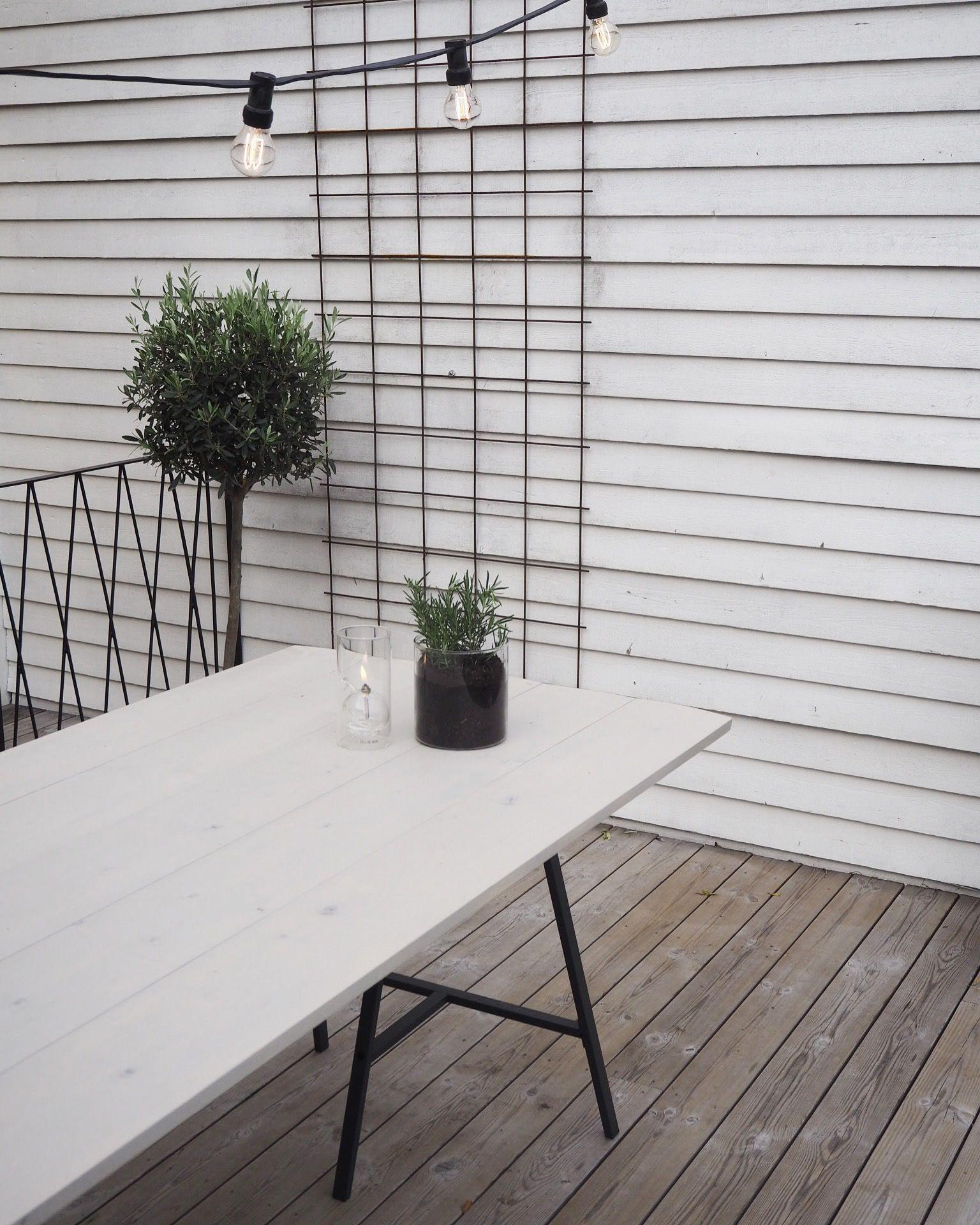 bygga bord med bockar