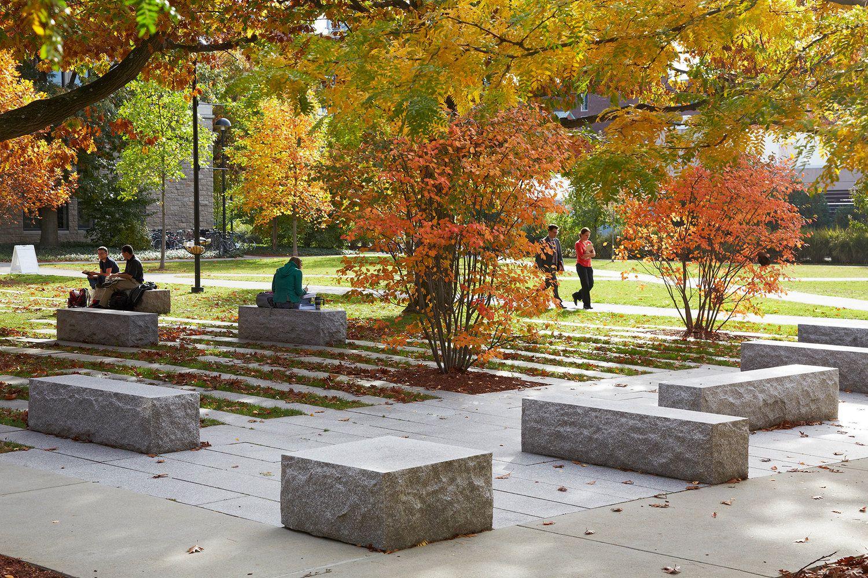 Harvard Rockefeller Hall — STIMSON   Campus landscape ...