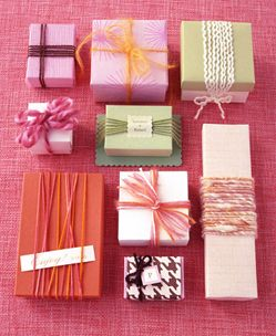Cute gift wrapping ideas.