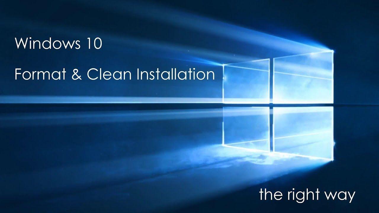 إعمل فورمات للوندوز بنفسك خطوات سهلة Windows 10