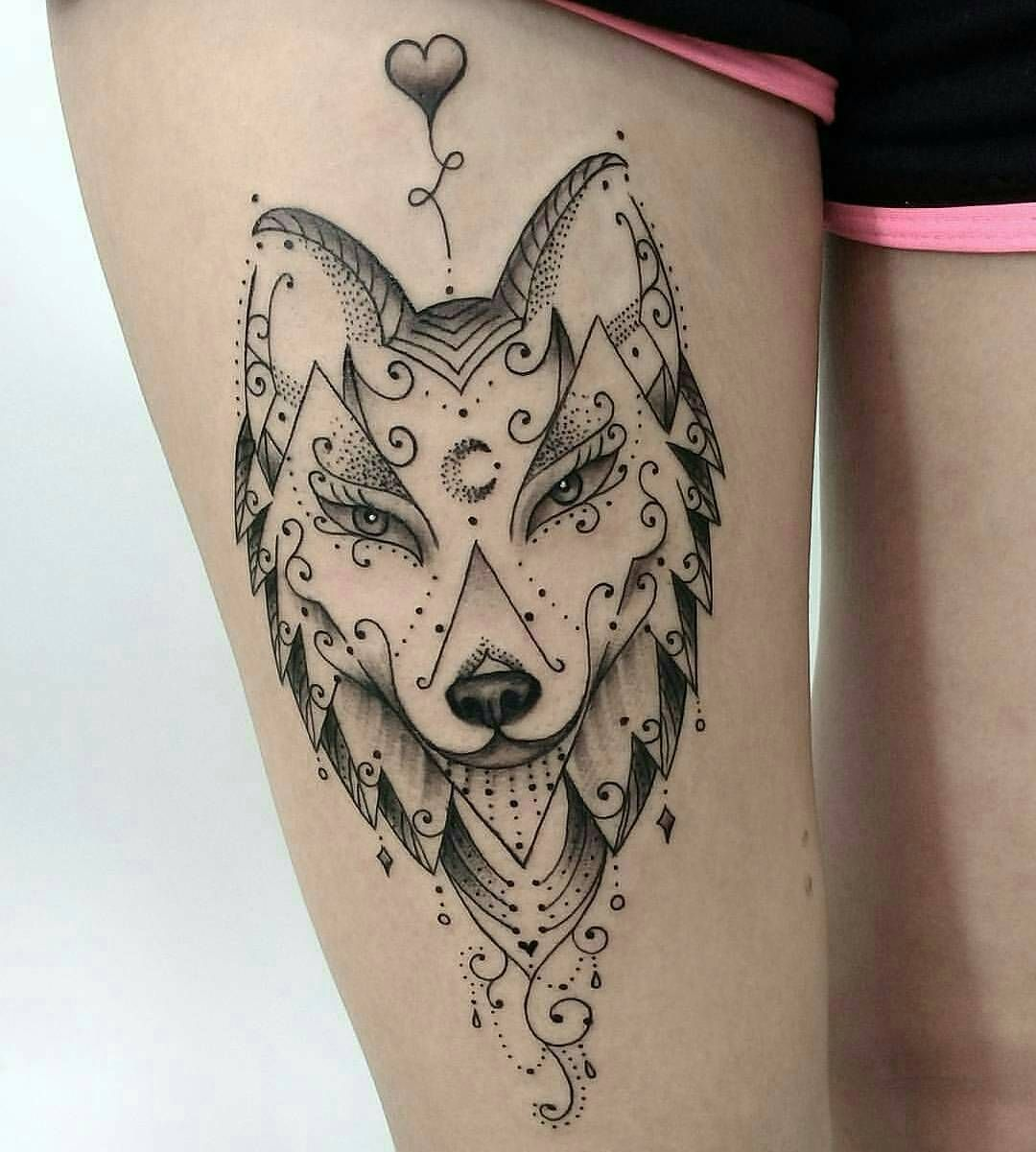 50 Of The Most Beautiful Wolf Tattoo Designs The Internet Has Ever Seen Girly Tattoos Tattoos Wolf Tattoos For Women