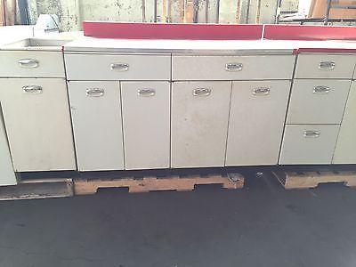 Vintage Geneva Retro Mid Century Modern Metal Kitchen Cabinets Sink Metal Kitchen Cabinets Modern Metal Kitchen Kitchen Cabinets