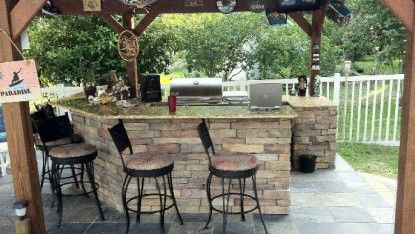 Jax Outdoor Kitchens Llc Has A Team Of Experienced Brick Pavers In Jacksonville Fl We Will Give You The Outdoor Kitchen Outdoor Decor Outdoor Kitchen Design