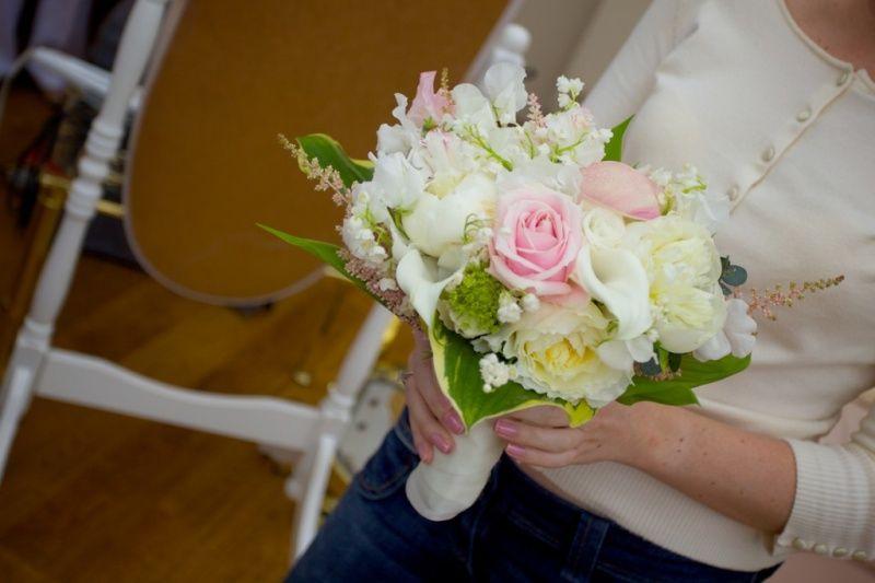 blanc etrose bouquet
