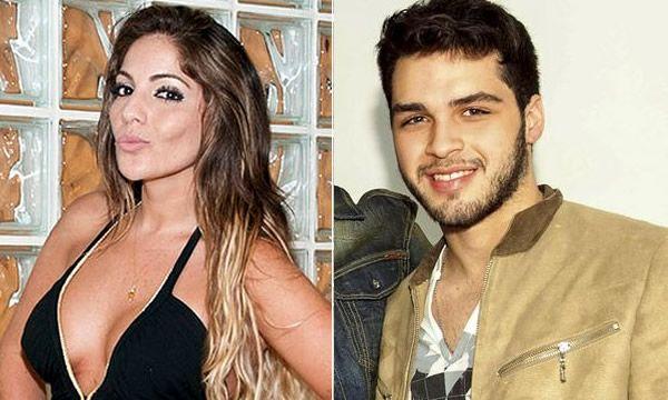 Ex-BBB Ana Mara estaria ficando com Nathan, filho do cantor Luciano