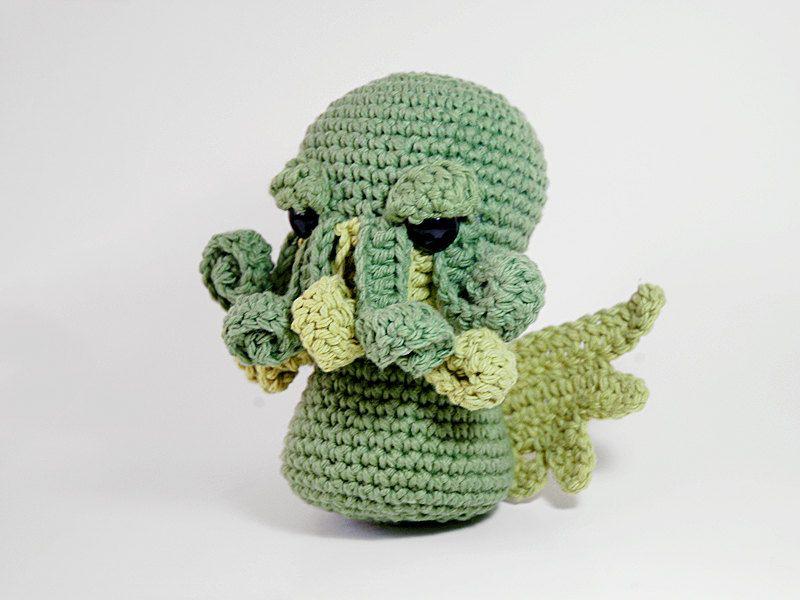 PATTERN - Cthulhu Crocheted Amigurumi