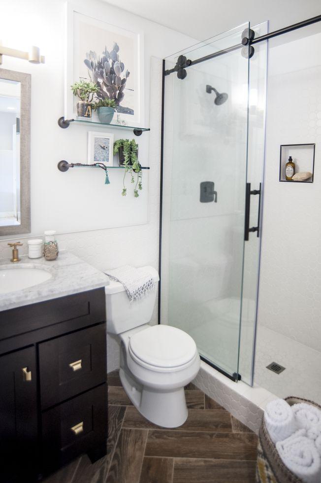 Popsugar Editor's Stunning Bathroom Remodel  Small Bathroom Enchanting Tips For Small Bathrooms Design Ideas