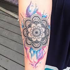 Resultado De Imagen Para Mandala Tattoo Watercolor Tattoos For