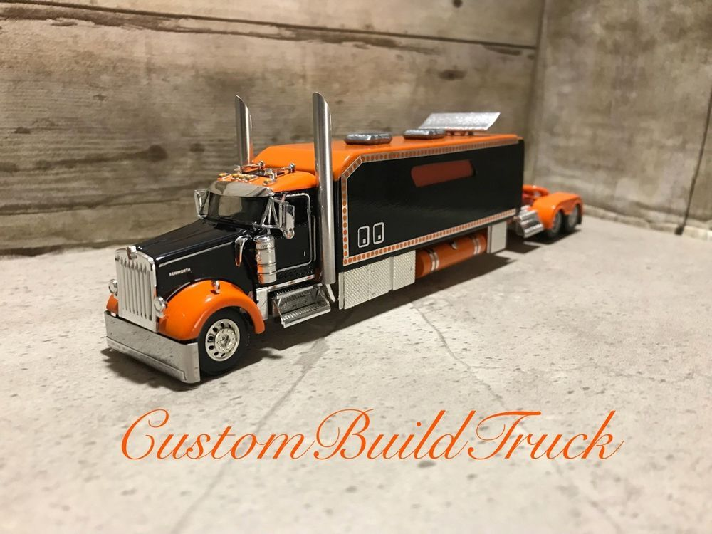 Custom Dcp Kenworth Old School With Condo Sleeper 1 64