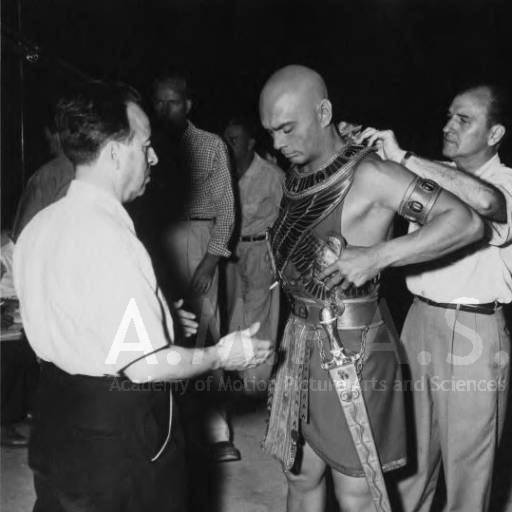10 Commandments Movie Quotes: Yul Brynner And Others During Production Of THE TEN