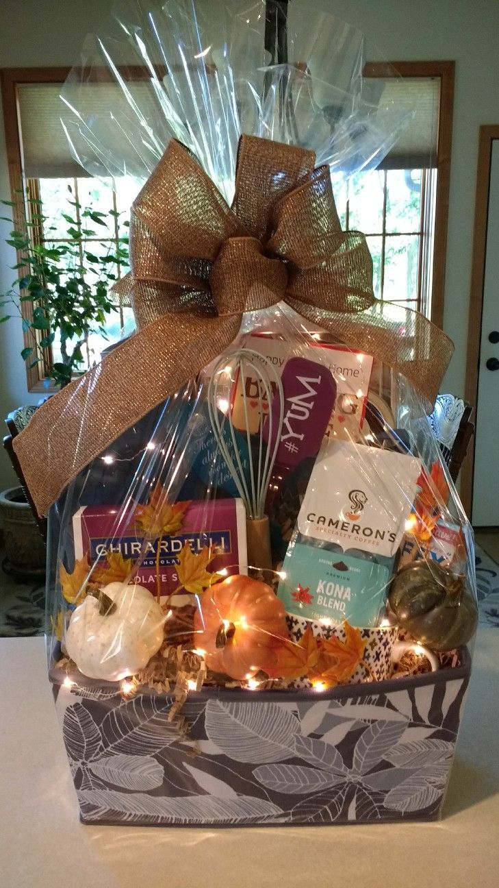 Welcome To Your New Home Gift Basket (With Images)