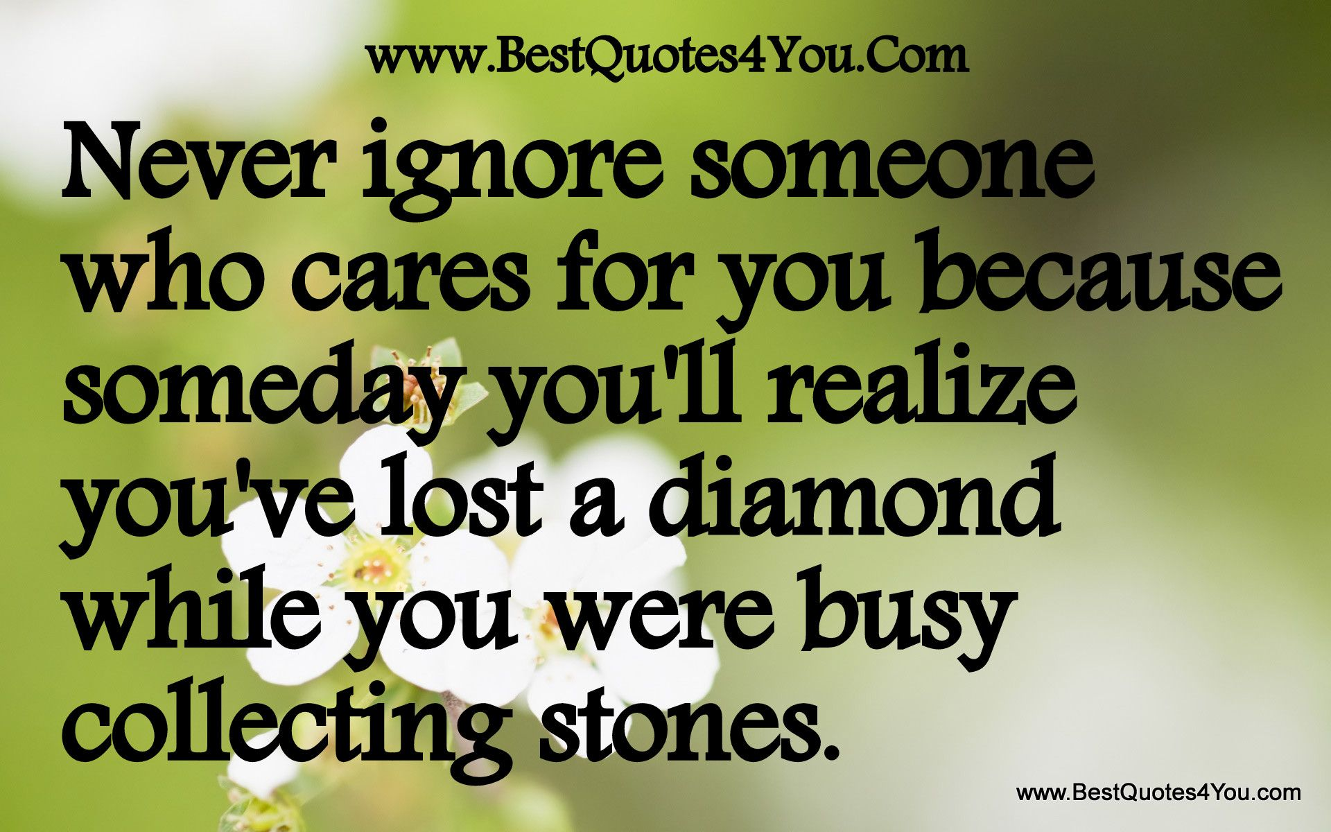 Loss Of A Loved One Quotes Inspirational Never Ignore Someone Who Cares For You Because Someday You'll